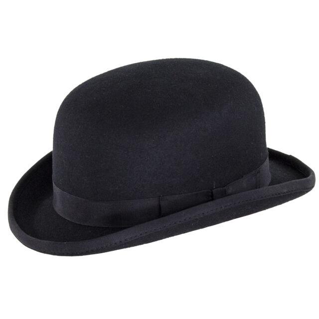 Denton Hats Soft Bowler Hat S - XXL XL 61cm Black  239dcca9bec