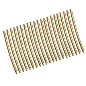 21pc brass fret wire fretwire 2mm guitar part gold for folk acoustic guitar ebay. Black Bedroom Furniture Sets. Home Design Ideas