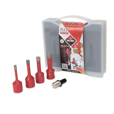 Rubi Trocken Schnitt 5 Teile Mini Diamant Loch Schneider Set 50938