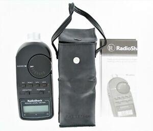Radio-Shack-Digital-Sound-Level-Meter-Tester-30-2055-with-Case-amp-Manual