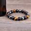 Bracelet-Triple-Protection-En-Obsidienne-Noire-Oeil-De-Tigre-Hematite-en-8-mm miniature 3