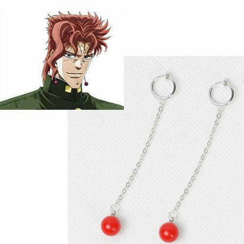 3JoJo/'s Bizarre Adventure Kakyoin Noriaki Cosplay Earring Earrings
