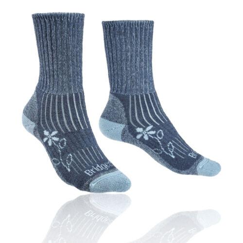 Bridgedale Femme Randonnée Poids Boot Merino Confort Bleu Chaussettes en Plein Air Chaud