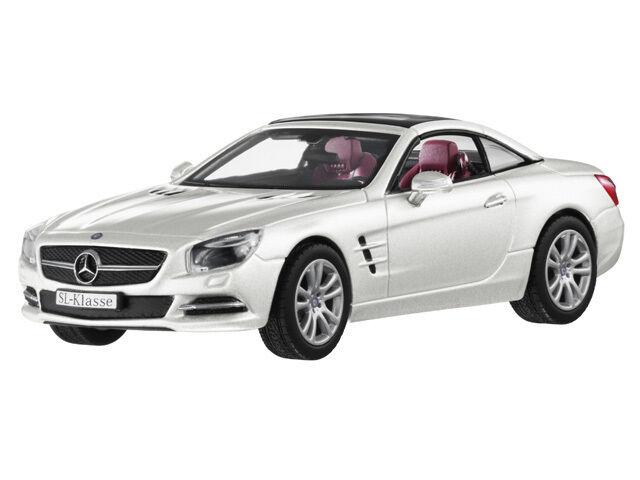 Norev 2012 Mercedes Benz SL 1 43 blancoo  Nueva Versión  rara edición del distribuidor