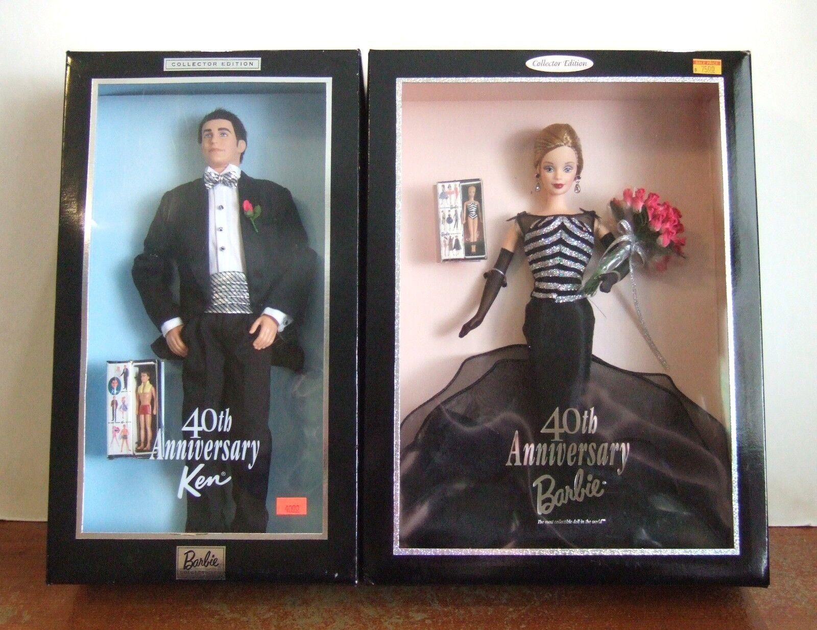 1999 40th Anniversary Barbie & Ken Collezzionista Edizione Disegna  Z130 Set 2