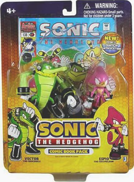 Sonic the Hedgehog 4  Espio & 4  Vector avec Sonic 138 Comic NEW FACTORY SEALED