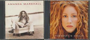 Tuesday-039-s-Child-Amanda-Marshall-by-Amanda-Marshall-2-CD-SALE