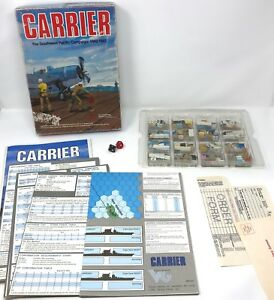 vintage victory games 1990 carrier sw pacific campaign solitaire