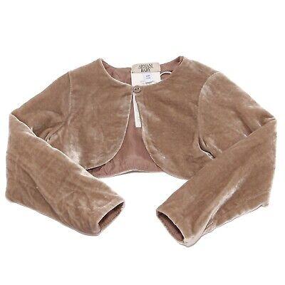 Bello 0300k Coprispalle Bimba Girl Armani Baby Chenille Scaldacuore Sweater Jacket I Clienti Prima Di Tutto