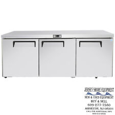 Atosa Mgf8404gr 72 3 Door Undercounter Ss Refrigerator Warranty 72 X 30 X 37