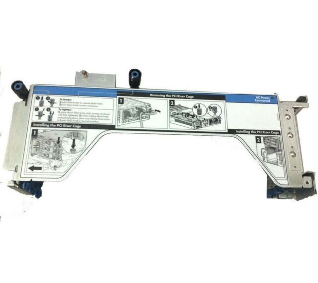 HP DL380 DL385 G5 PCI Riser Card Cage 408786-001 391725-001