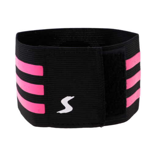 CAPTAIN/'S ARM BAND youth /&adult size Football Soccer Sport Armband #2 black