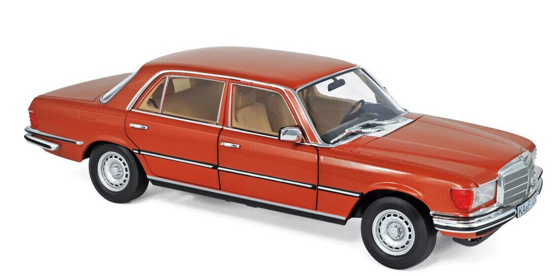 183459 norev 1 18 mercedes-benz 450 sel 6.9 1976 inca arancia metalizado
