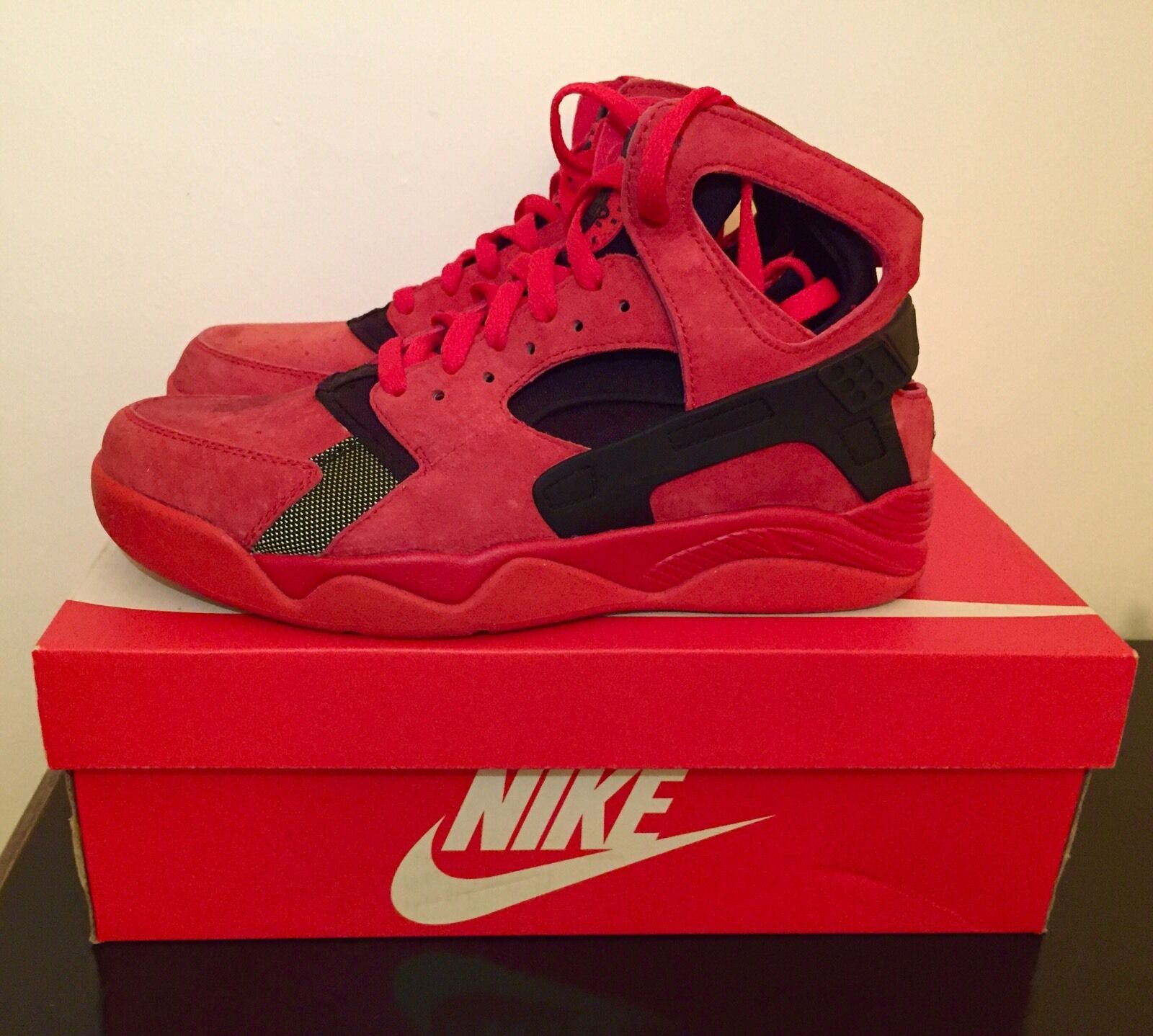 nike Air Flight Huarache 9 EU in Talla US 9 Huarache EU Huarache 42.5 3b2806 0effd5