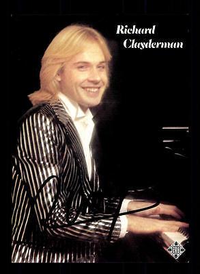 Vereinigt Richard Clayderman Autogrammkarte Original Signiert ## Bc 87265 Musik Original, Nicht Zertifiziert