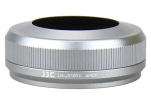 Jjc Premium Silver Lens Hood Lh Jx100ii Replacement For