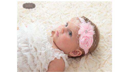 Baby Girl Newborn Flower Soft Elastic Headband Wedding