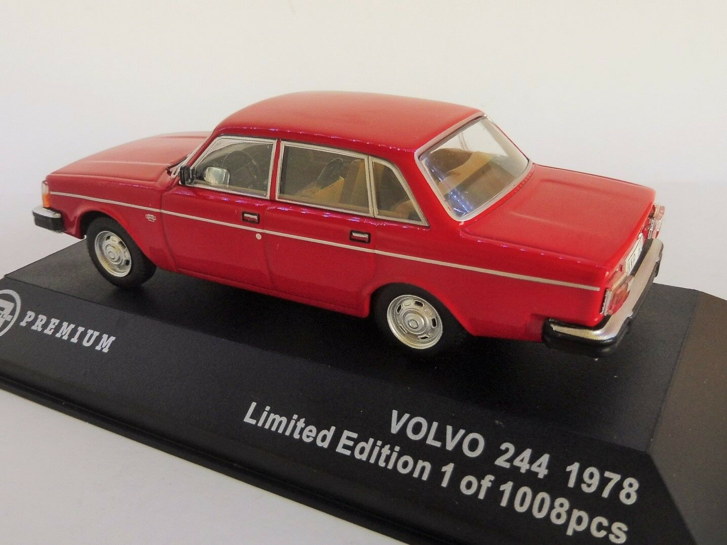 Volvo 244 dl 1978 1978 1978 rojo 1 43 triple 9 Collection t9p10016 Limited 240 b338be