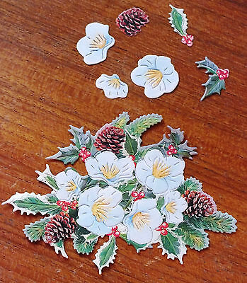 x 6 SETS TATTERED LACE CHARISMA 250gsm DIE CUTS SWEETPEA 10 Colours//Mixed