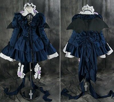 a151 n Maß Pandora HEARTS ALICE Cosplay Kostüm GOTHIC LOLITA Kleid costume dress