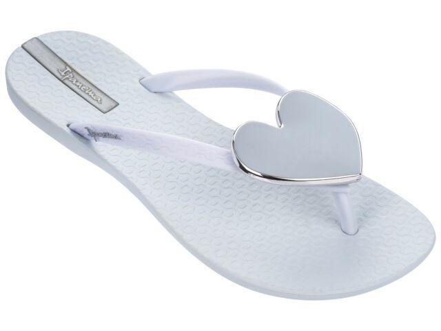 Ipanema Brasil Maxi Heart 21 Womens Flip Flops