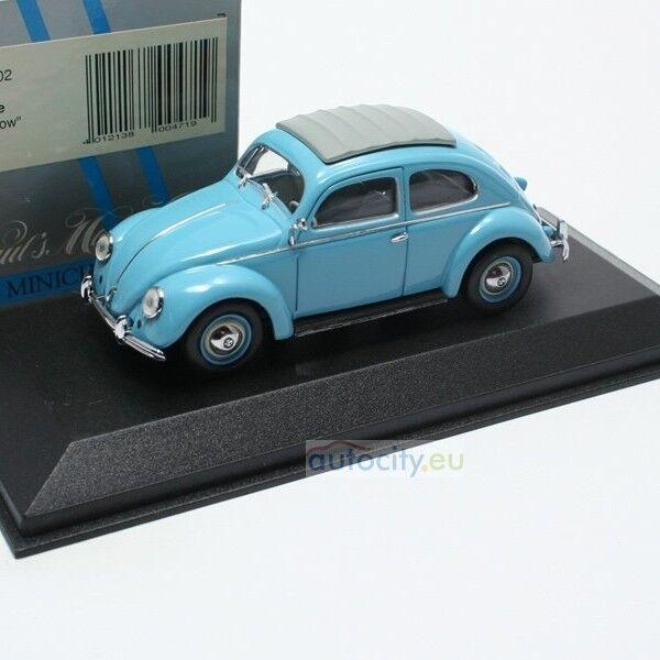 MINICHAMPS VW BEETLE 'SPLIT WINDOW' LIGHT Blau 430052002
