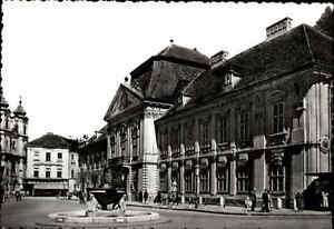 Szekesfehervar-Freiheits-Platz-in-UNGARN-AK-Postkarte-Postcard-Ansichtskarte