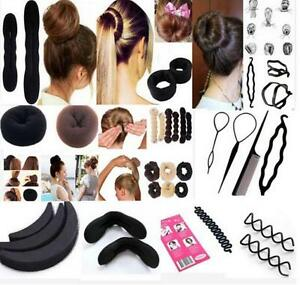 black-Magic-Sponge-Clip-Foam-Bun-Curler-Twist-Hair-Styling-Maker-Tool-set-YKAT