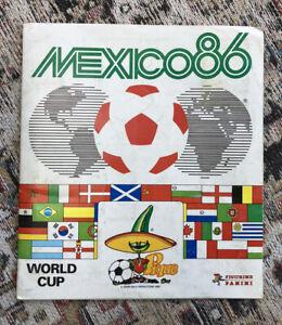 Mexico 86 Panini Album. 100% Complete. VGC.