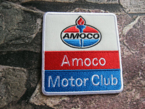 Ricamate patch motorradcross Amoco GT GTI RACE TUNING RACING MOTO SPORT BIKER