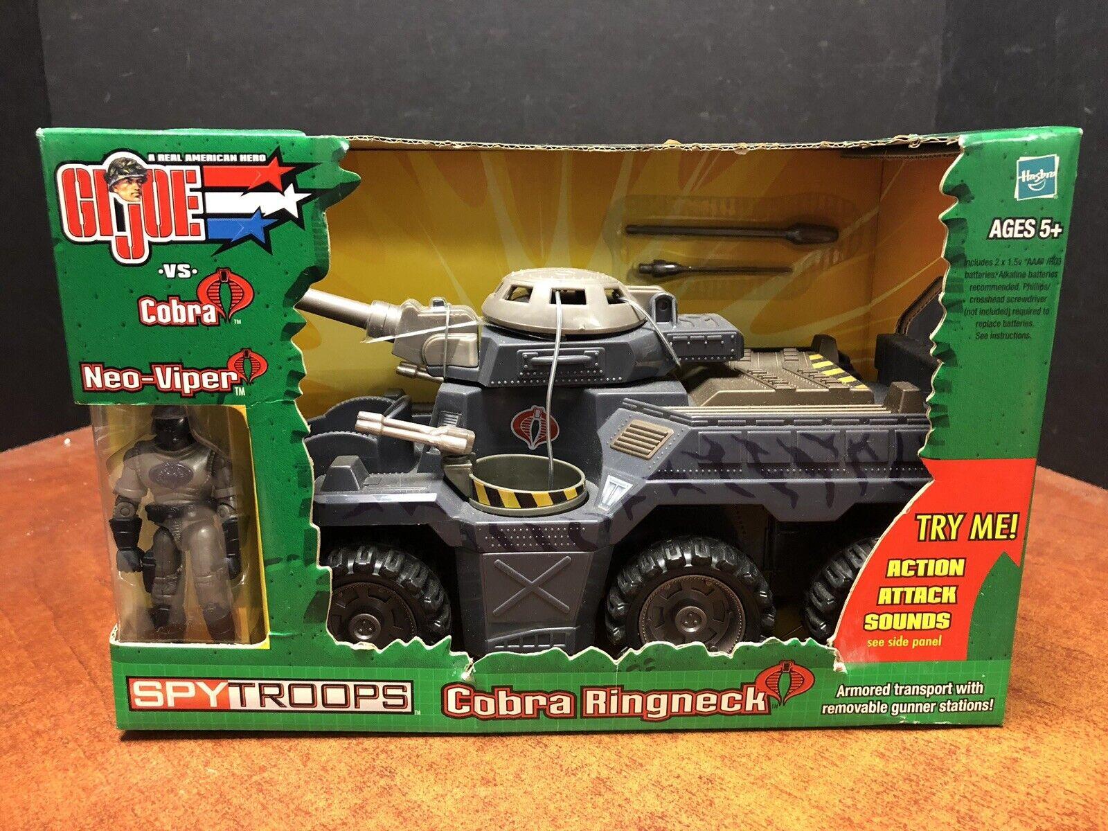 GI Joe Vs Cobra Spy Troops Cobra Ringneck With Neo Viper Dela0702