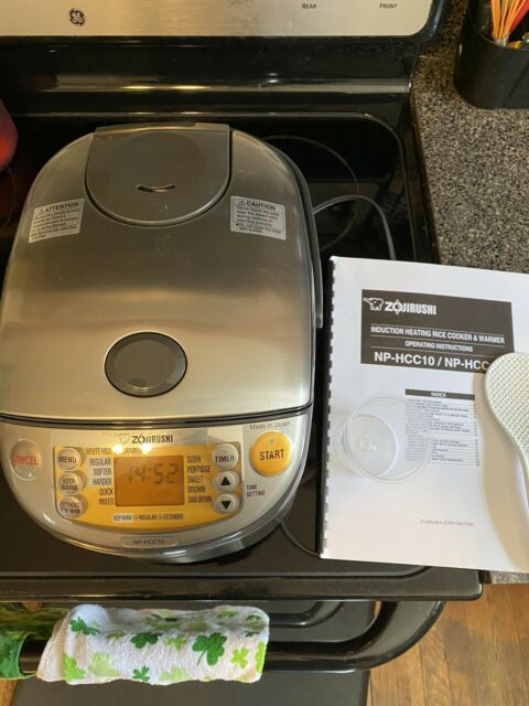 Zojirushi NP-NWC18 Pressure Induction Heating 10 Cup Rice Cooker and Warmer