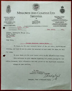 Mellowes-and-Company-Eclipse-Patent-Roof-Glazing-Sheffield-Letterhead-1935