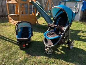 Graco Stroller Car Seat Combo Baby Boy Travel System Blue ...
