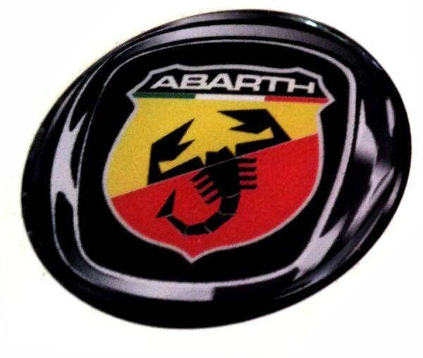 1 Adesivi Abarth Resinato Adesivi Resinati 3d Stickers Emblema 5 Cm Cod179 Shrink-Proof
