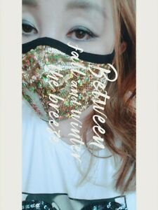 Handmade Washable Face Mask With Filter Pocket Gold Snake Foil Fabric Face Mask Ebay