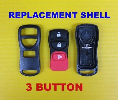 NEW Set of 10 Replacement Shell Case /& Rubber Button Pad 3 Button CWTWB1U733