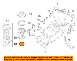 image is loading nissan-oem-fuel-system-fuel-pump-gasket-17342ea000