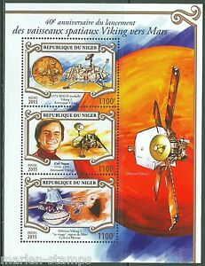 NIGER-2015-40th-ANNIVERSARY-THE-LAUNCH-OF-THE-VIKING-MARS-MISSION-SHT-MINT-NH