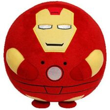Marvel IRON MAN TY Beanie Baby Ballz (Large Size - 12 inch) - Plush Ball Toy