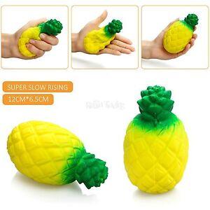 12CM-matschig-Ananas-Duft-Squeeze-langsam-Steigende-Spass-Spielzeug-Stress-Geschenk