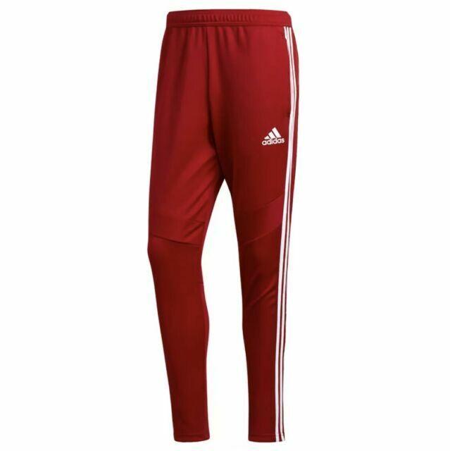 adidas Tiro 19 Men's Training Pants - Power Red/White, Size M for ...