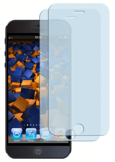 mumbi 2x Panzerfolie für iPhone SE 5 5s Folie Schutzfolie Displayschutz klar