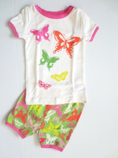 44f64728ad4c Baby Gap Girls Butterfly Shorts Pajamas - Size 2t - for sale online ...
