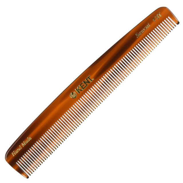 Kent F3T 165mm Womens Mens Medium Sized Fine Toothed Dressing Hair Comb