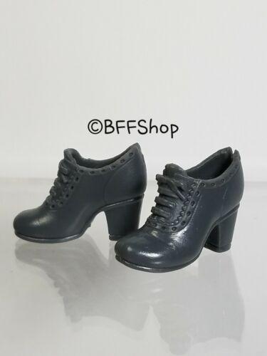 MATTEL GREY BOOTIES BOOTS BARBIE FASHIONISTAS FASHION SHOES FOOTWEAR