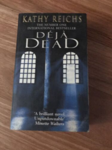 1 of 1 - Paperback - Deja Dead - Kathy Reichs - GREAT READ - AMAZING BOOK
