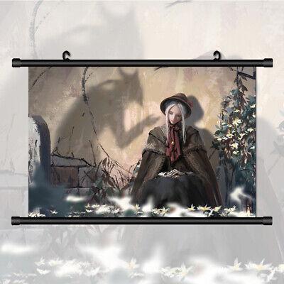 Bloodborne Plain Doll Canvas Print Wall Poster Scroll Room Decor
