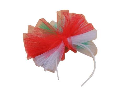 80s Alice Hair Band Neon Tutu Net Bow Hen Party Hairband Madonna 80/'s Headband