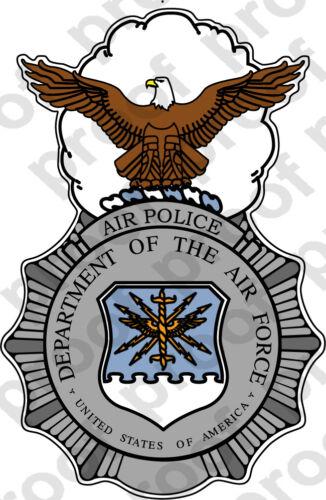 STICKER USAF Air Force Air Police
